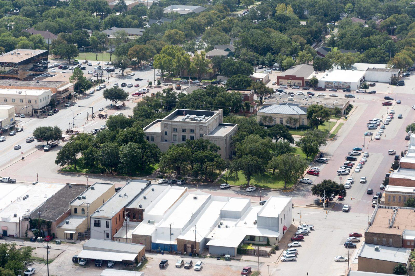 Graham aerial view