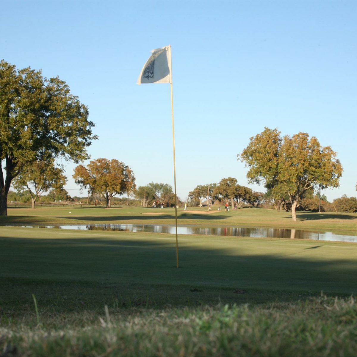 Graham Country Club golf course hole