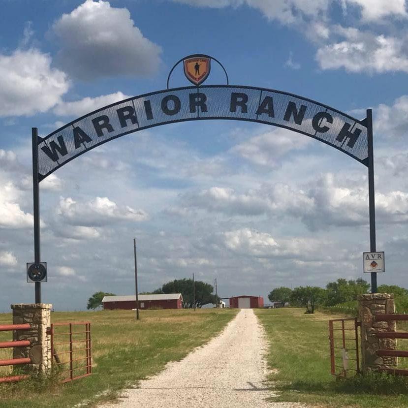 Warrior ranch entrance