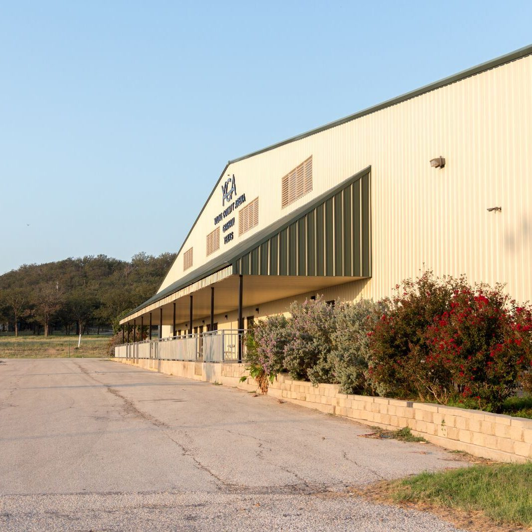 Young County Arena outside view